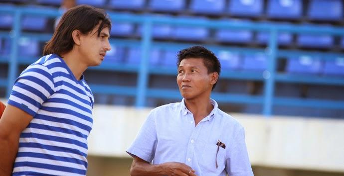 Marwal Iskandar Jadi Asisten Arcan Iurie di PBFC