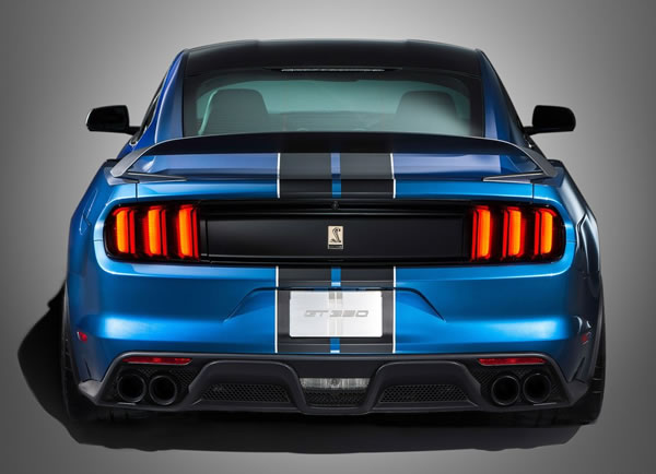 「Mustang Shelby GT350R」のリア画像その2