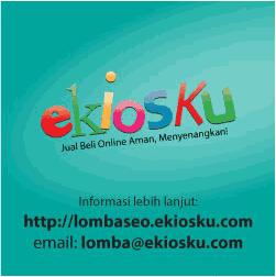 Kontes SEO terbaru 2013 target keywords Cari Uang lewat ekiosku.com total hadia Rp.15.5 Juta