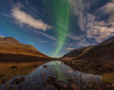 Auroras boreales, 01 de Octubre 2012