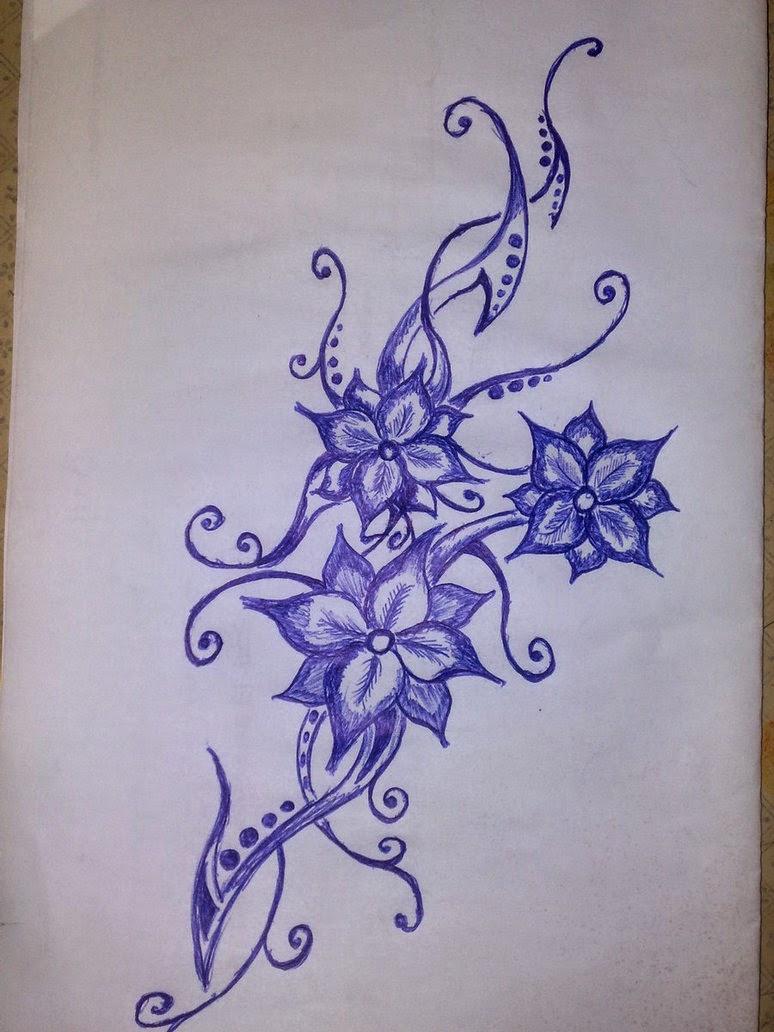 Tatuajes para Mujeres, Flores, parte 2