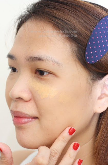 How to apply using Celeteque 24 Hour Photoready Liquid Foundation