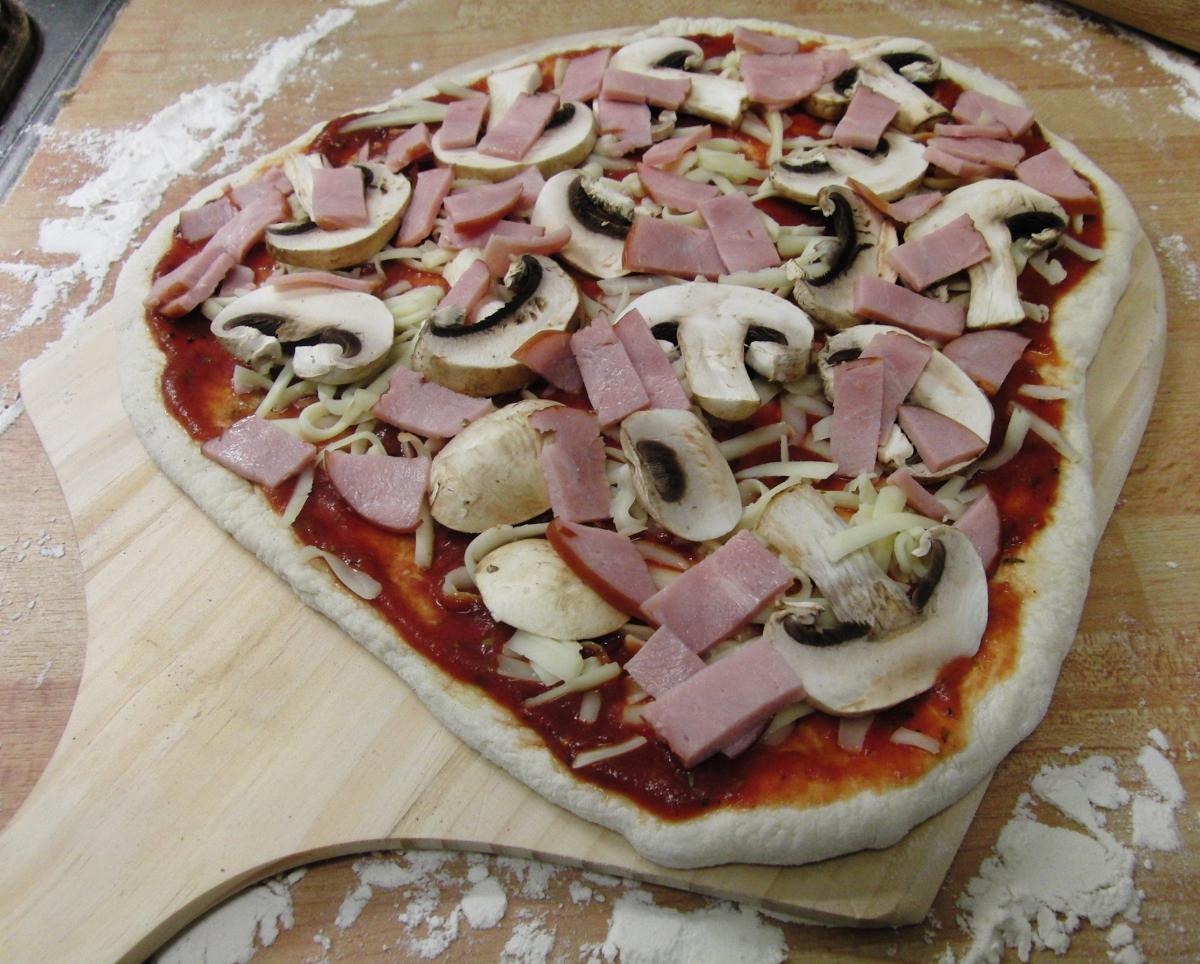 baka pizza hemma