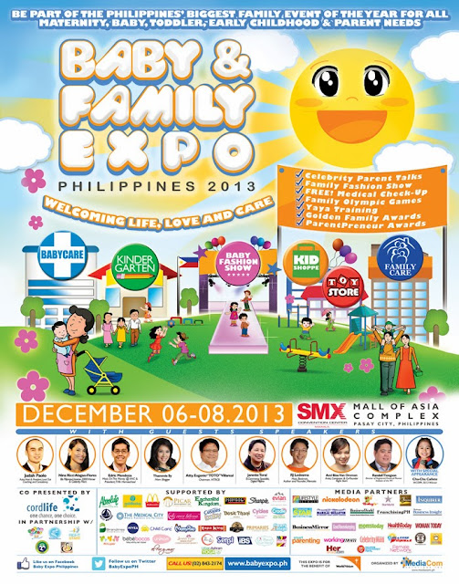 [Press Release] CELEBRITY FAMILIES TO BE AWARDED AT THE BABY & FAMILY EXPO 2013