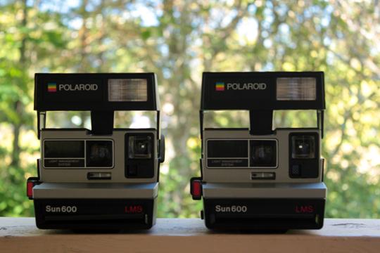 polaroid sun600