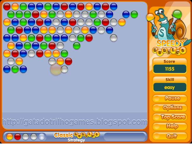 bubble shooter games for free