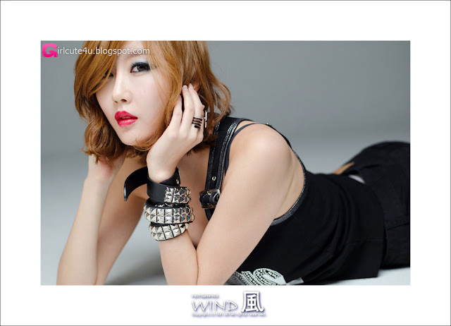 2 Choi Byeol Yee - Wow Black-very cute asian girl-girlcute4u.blogspot.com