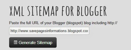How to Generate and Add XML Sitemap On Blogger Blogs?