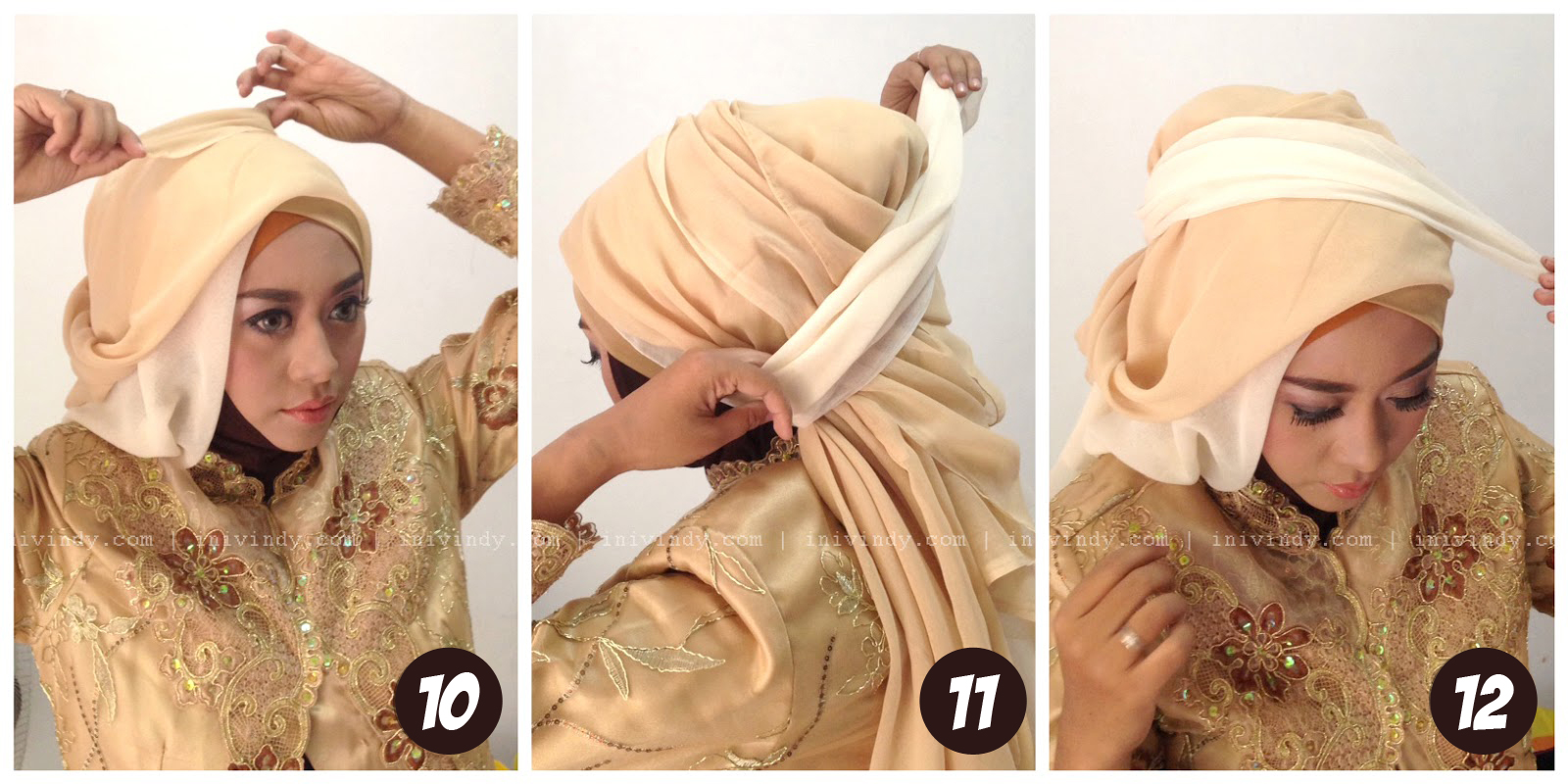 Bridal Hijab Tutorial