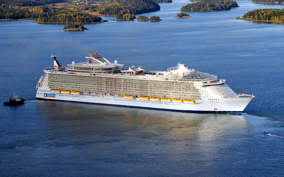 Oasis of the Seas wallpaper 1