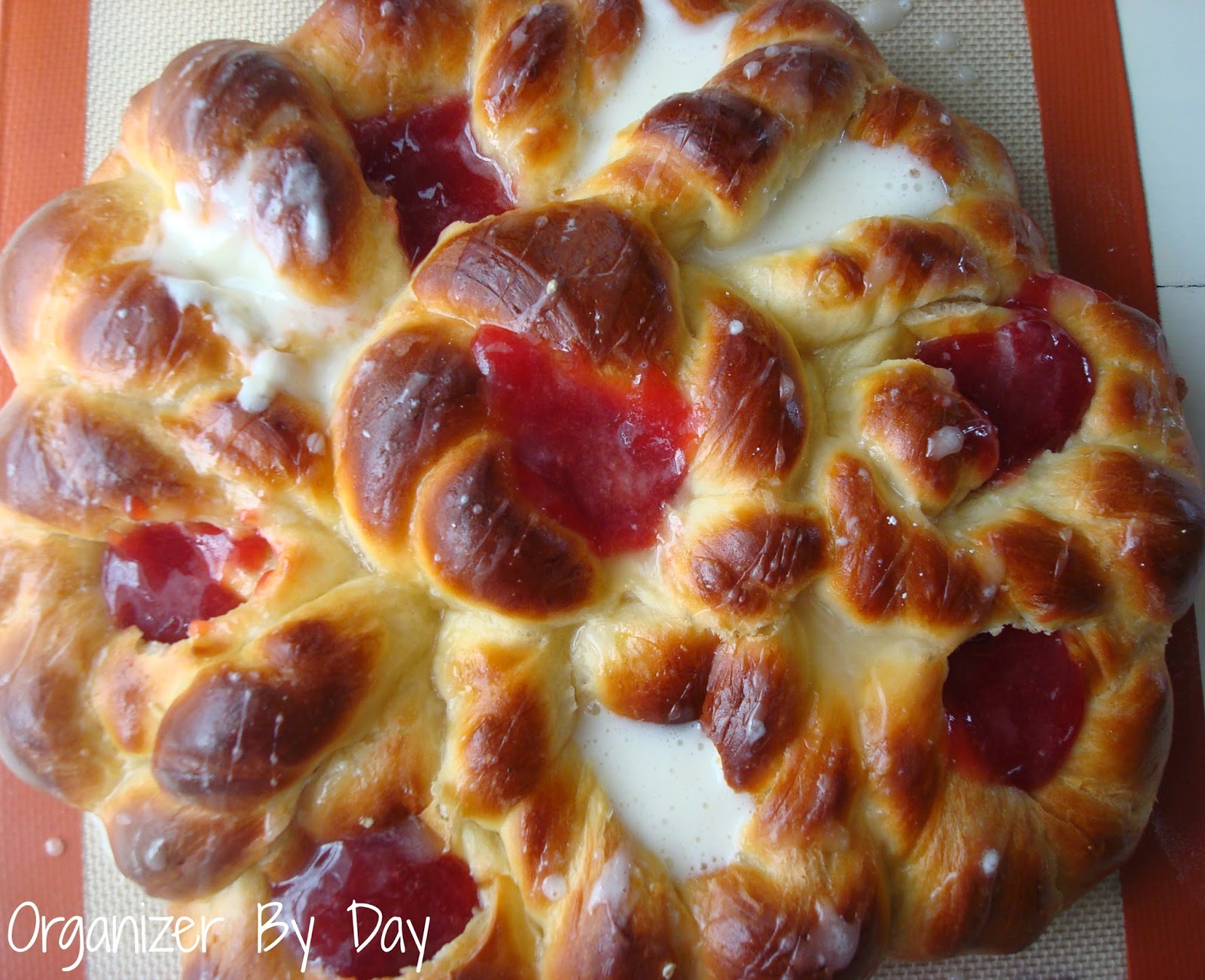 Pull-Apart Easter Blossom Bread Recipe — Dishmaps