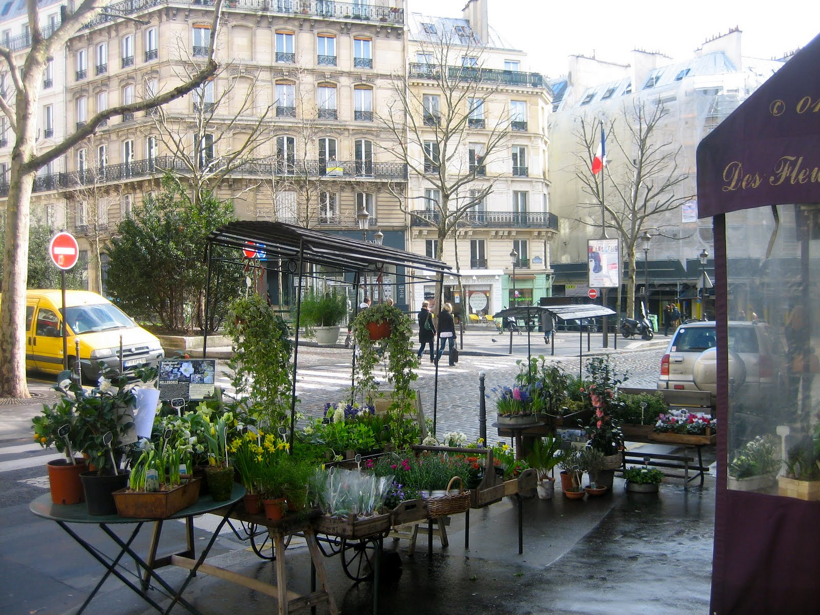 Voyage paris afternoon of a fl neuse for Miroir rue des martyrs