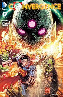 Cover of Convergence #0 from DC Comics