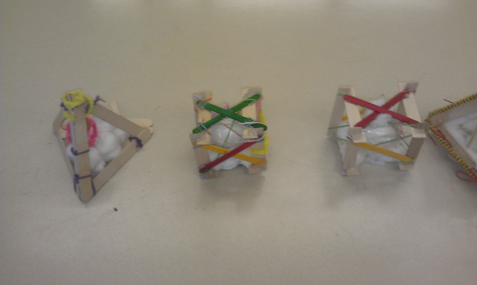 egg drop project designs with straws
