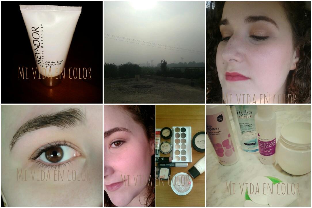 my-month-on-pictures-october-13'-blog-belleza-personal-crema-ultrhidratante-24h-skeyndor-niebla-vistas-desde-mi-ventama-look-día-FOTD-look-diario-cejas-naturales-productos-utilizados-para-maquillaje-natural-desmaquillado-productos-les-cosmetiques-deliplus-algodones