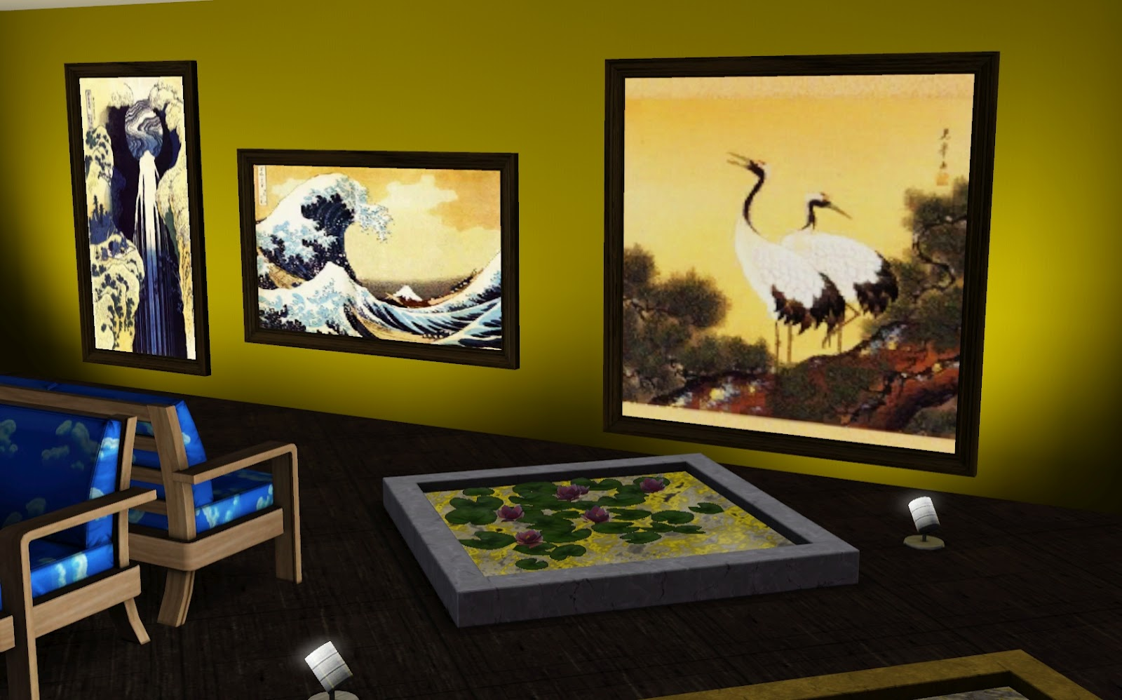 Kilhian\'s Lair: Japanese Paintings Set