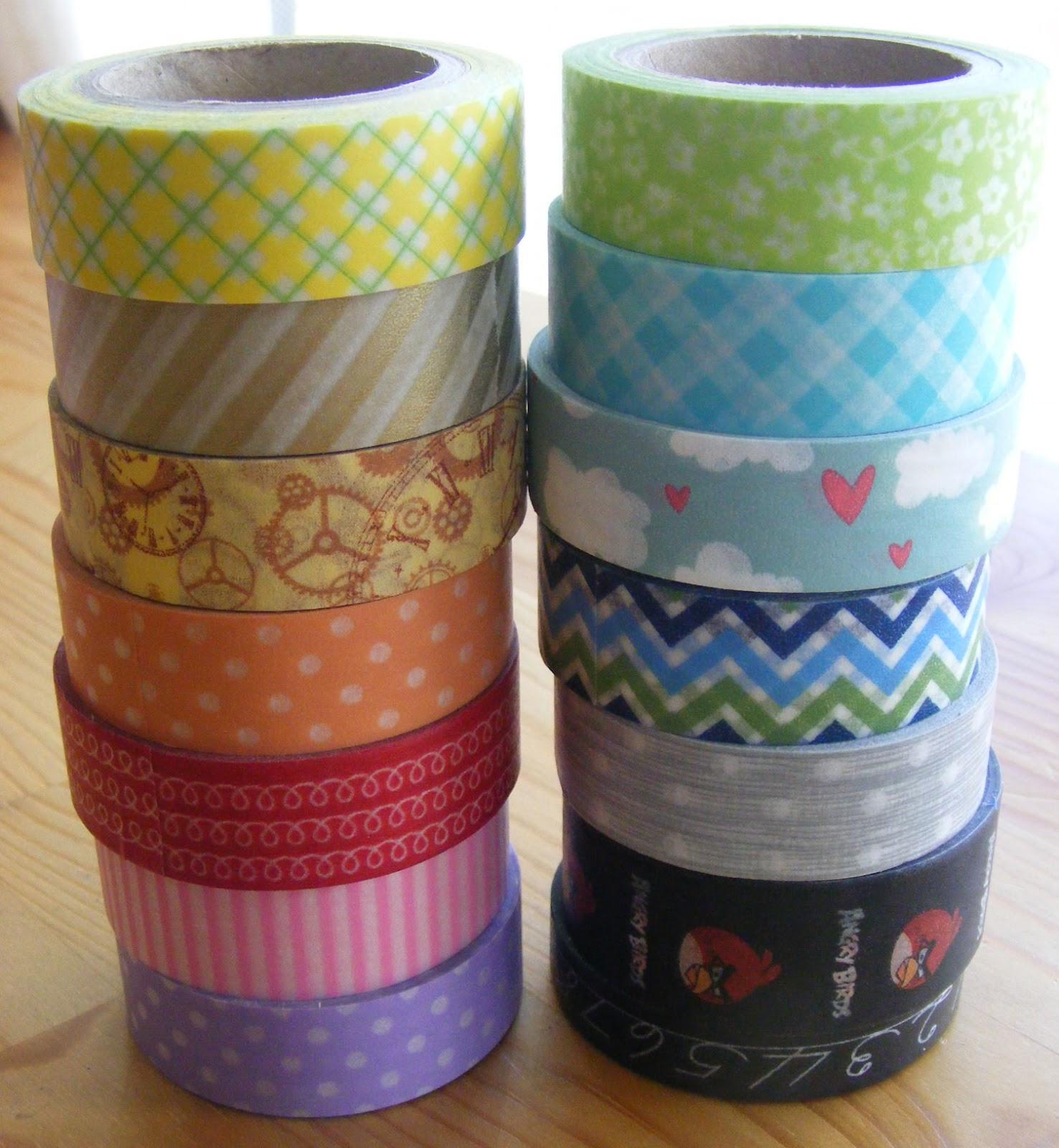 Colourblast Fun Things To Do With Washi Tape
