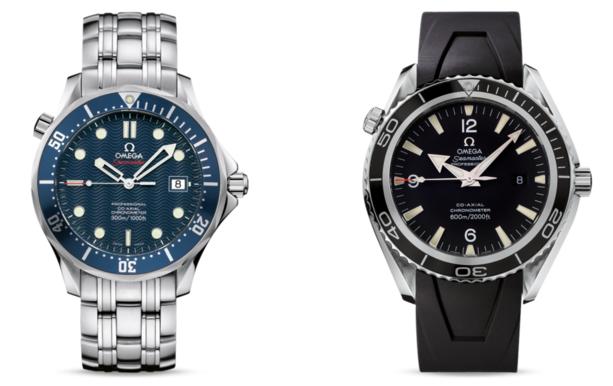 Seamaster Diver 300M Co-Axial y Planet Ocean 600M Co-Axial