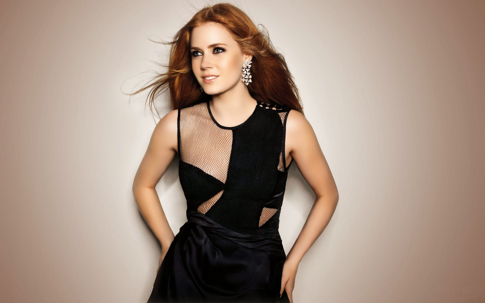Amy adams in black color western dress wallpapers