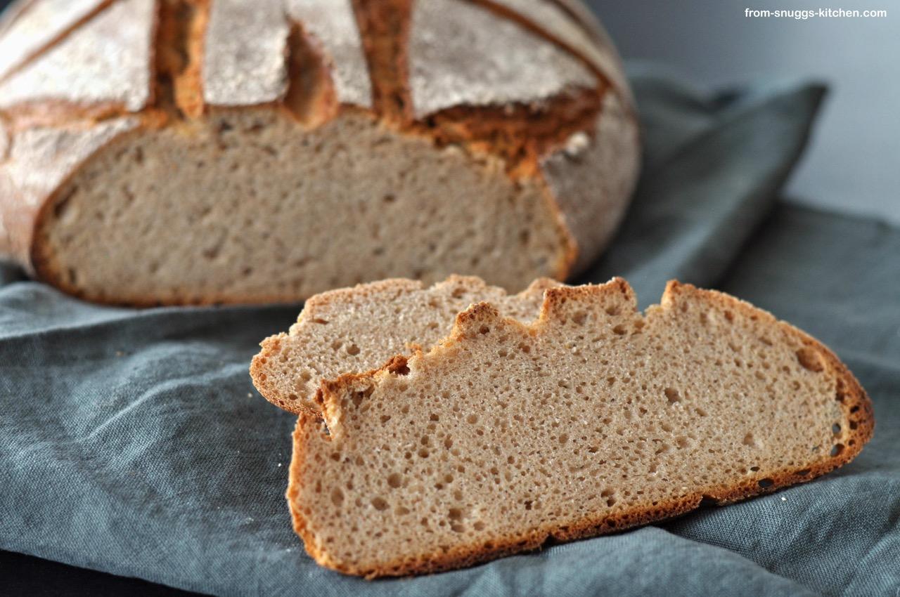 Dinkel-Roggen-Vollkorn-Brot