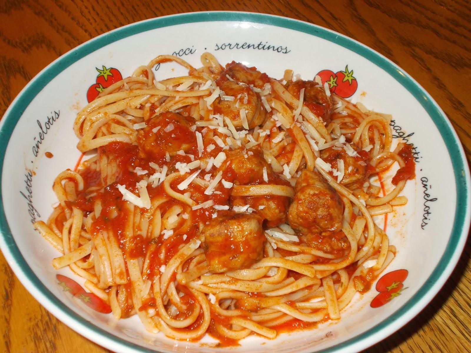 Spaghetti Avec Saucisse Hot Dog