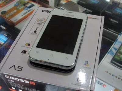 Cross A5, Handphone Android Rp500 Ribuan TV Prosesor 1GHz
