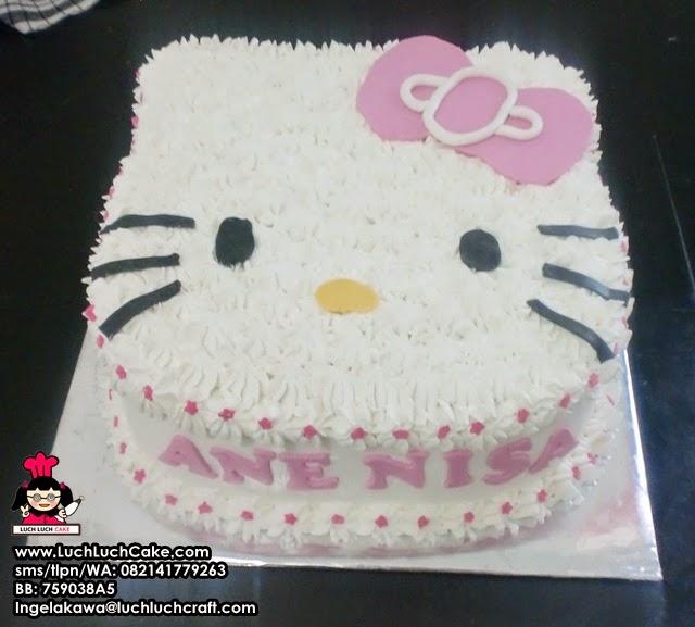 Kue Tart Ulang Tahun Hello Kitty Daerah Surabaya - Sidoarjo