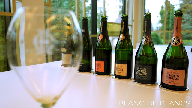 Tasting Charles Heidsieck - www.blancdeblancs.fi