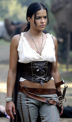 Michelle Rodriguez Action Pic