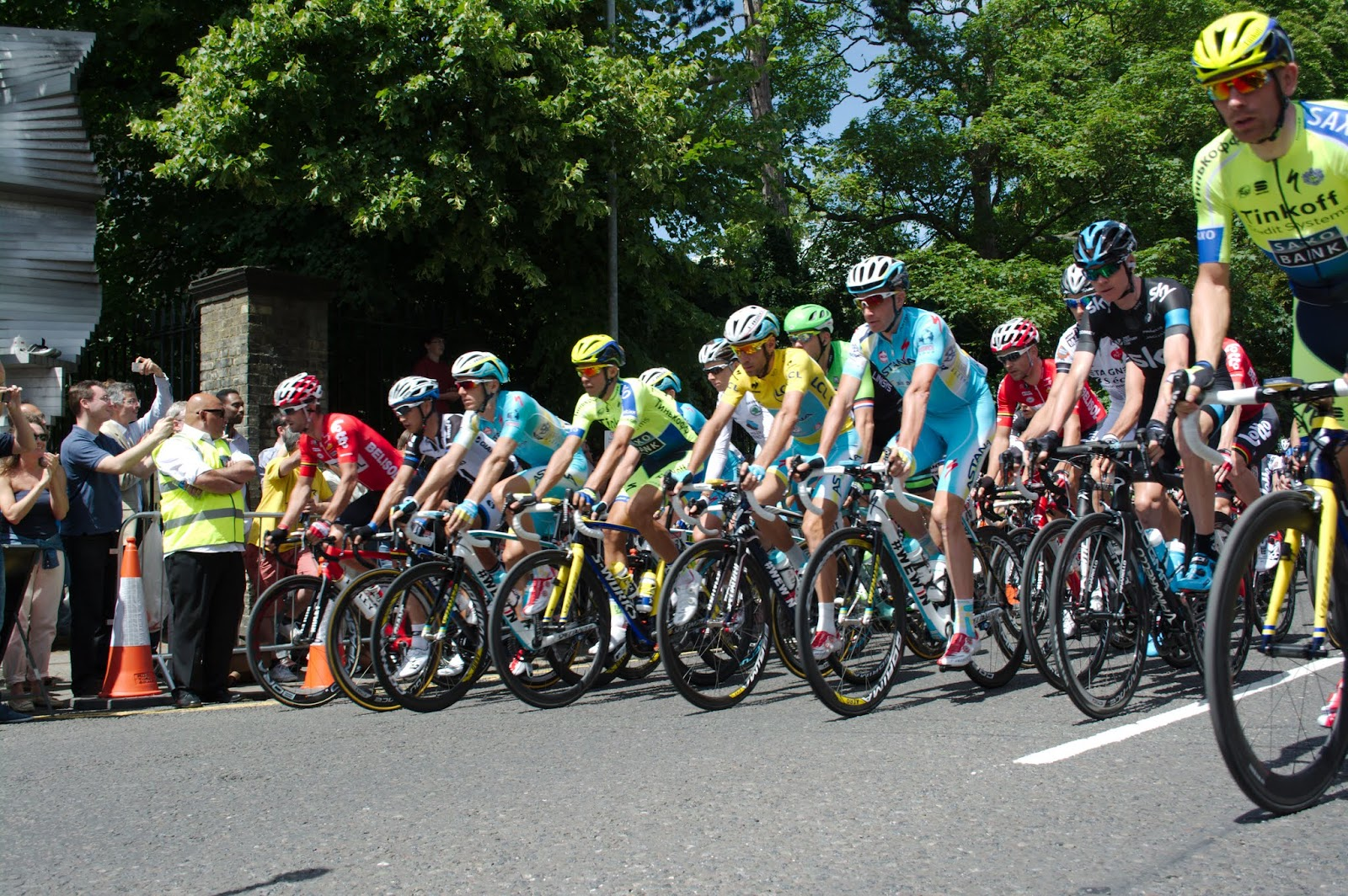 Tour de France in Cambridge photo album