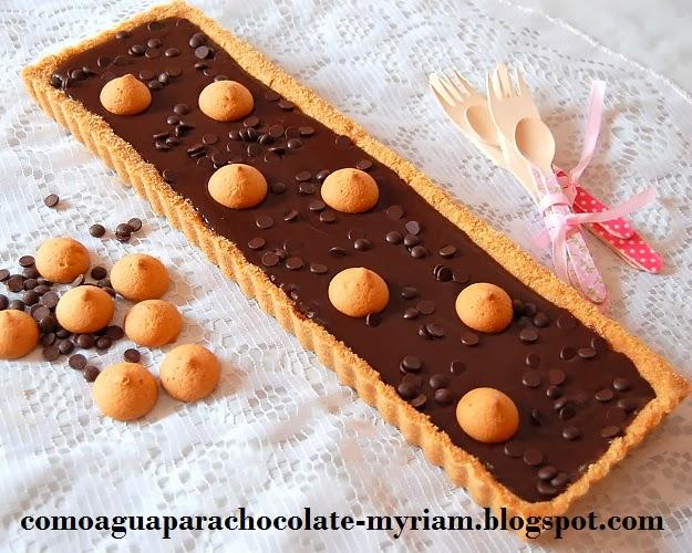TARTA FÁCIL DE CHOCOLATE SIN HORNO.