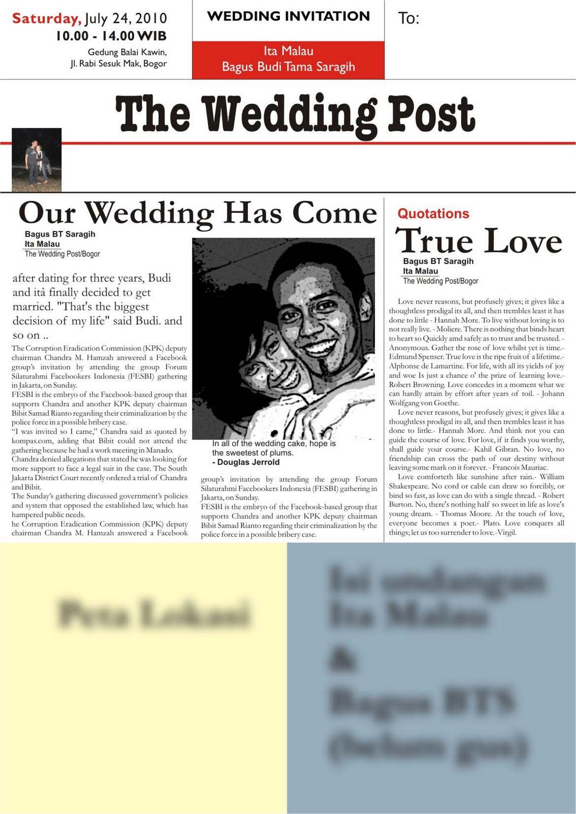 Desain Undangan Pernikahan Sendiri Dengan Photoshop