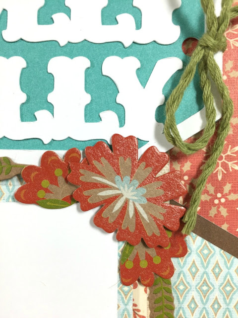 Cricut Artistry Holly Jolly Layout