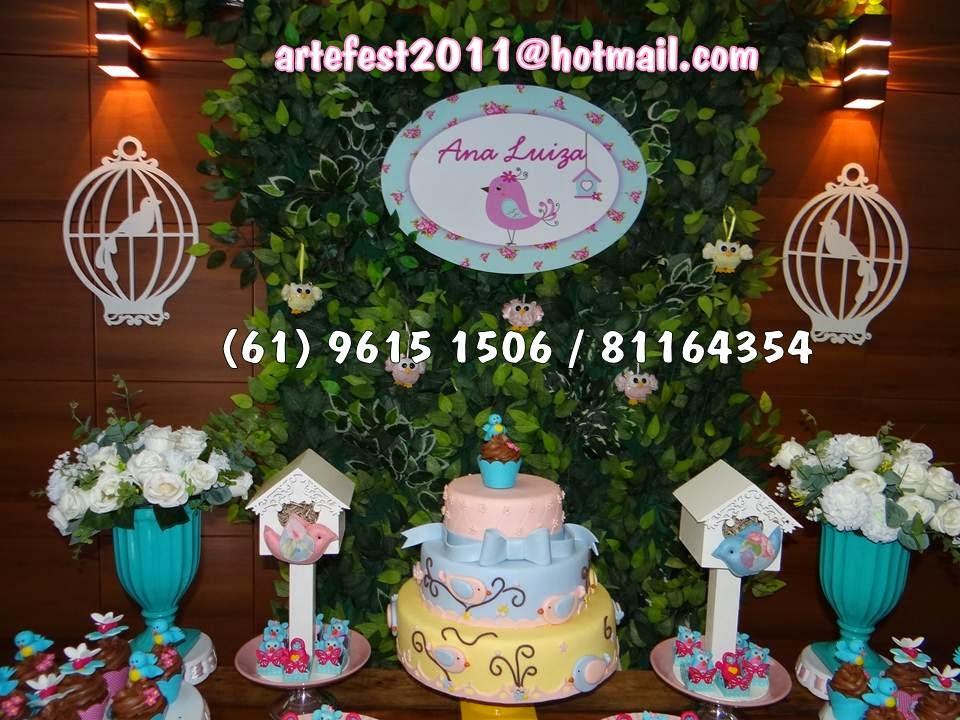decoracao jardim encantado rustico: : Decoração Jardim encantado da Ana Luiza – Kit com mesas rústicas