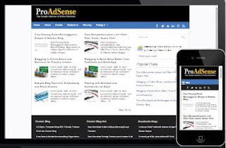 ProAdSense Template Blog SEO Responsive Terbaru 2016