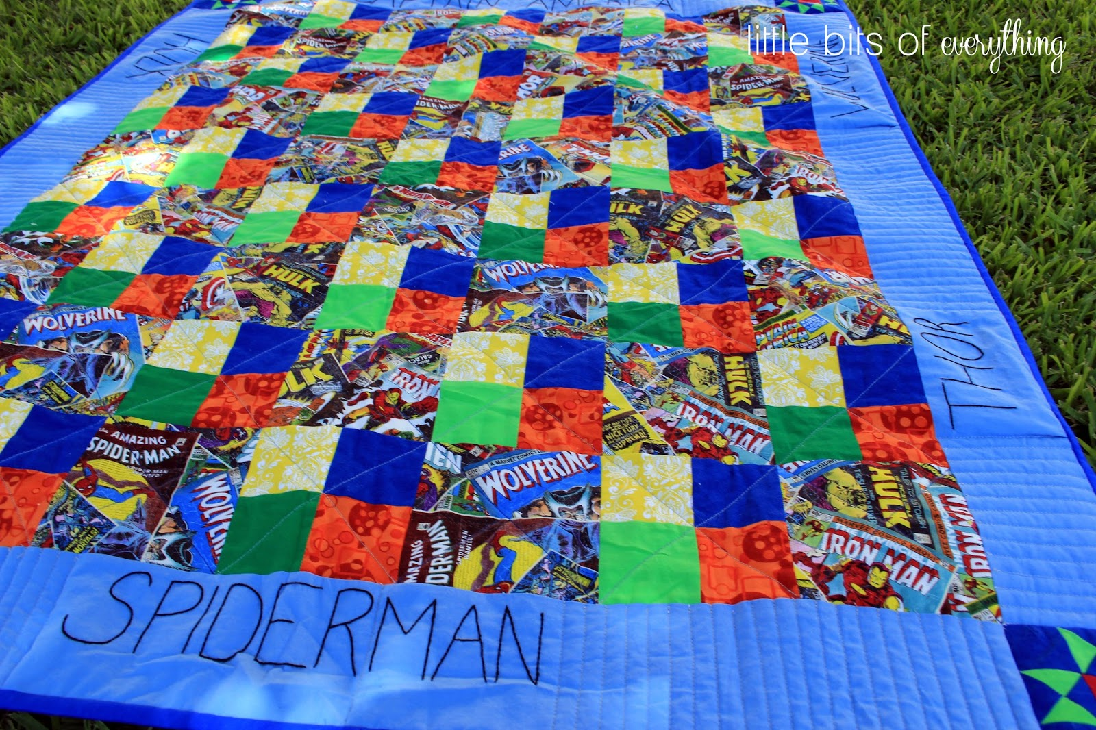 Superhero Quilts — Little Bits of Everything Inc. : superhero quilts - Adamdwight.com