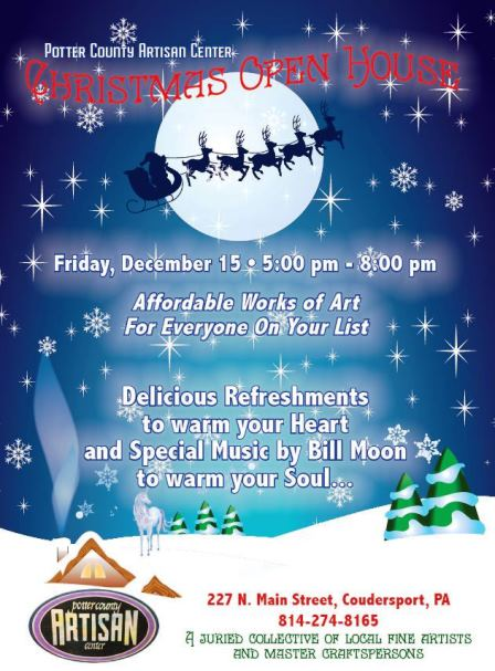 12-15 Christmas Open House