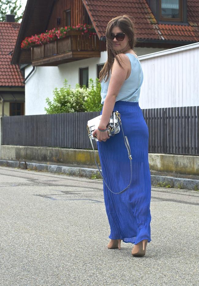 Blue Maxiskirt