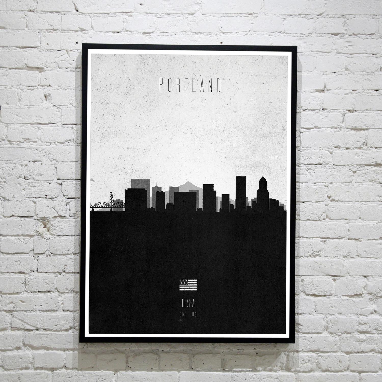 Portland. Contemporary Cityscape