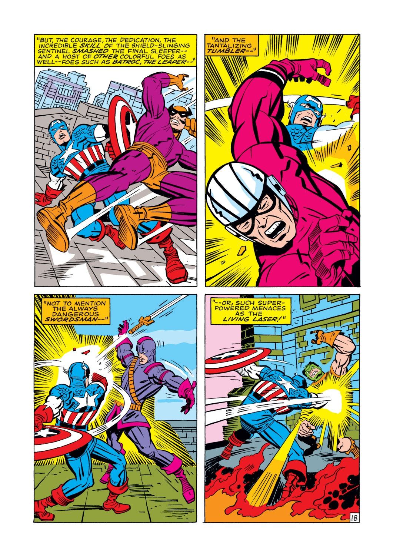 Captain America (1968) Issue #112 #26 - English 19