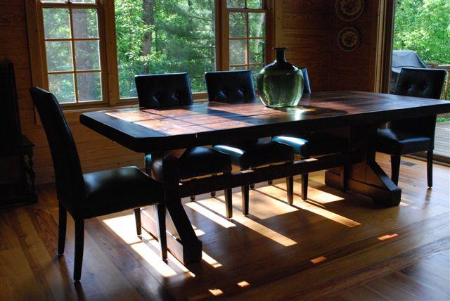 The Emerson | Cabin Living | Atlanta Georgia | Rustic Trades Furniture