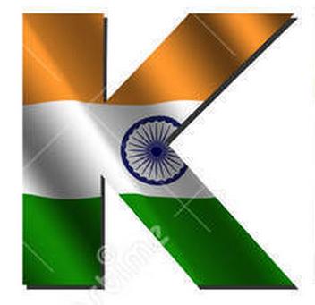 Independence Day Flag Alphabet
