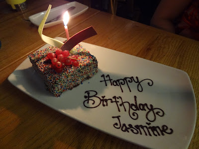 Birthday dinner at The Kitchen Table (W Sentosa)