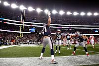 FÚTBOL AMERICANO (NFL Divisional Round AFC) - Volvió la conexión Brady-Edelman y los Patriots rompieron la racha de los Chiefs