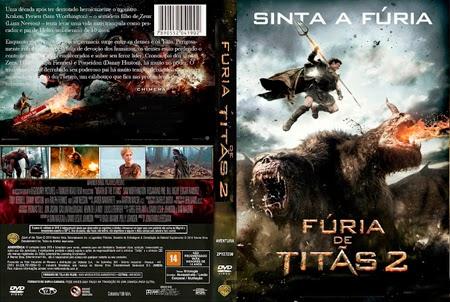 Capa Fúria de Titãs 2