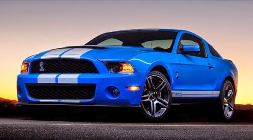 Car Wallpaper: Ford Mustang Shelby GT500 Convertible 2013