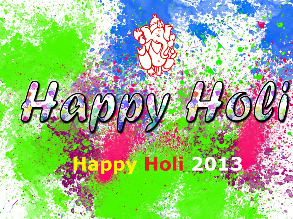 New 2013 Happy Holi HD Wallpapers Web-Photo Gallery