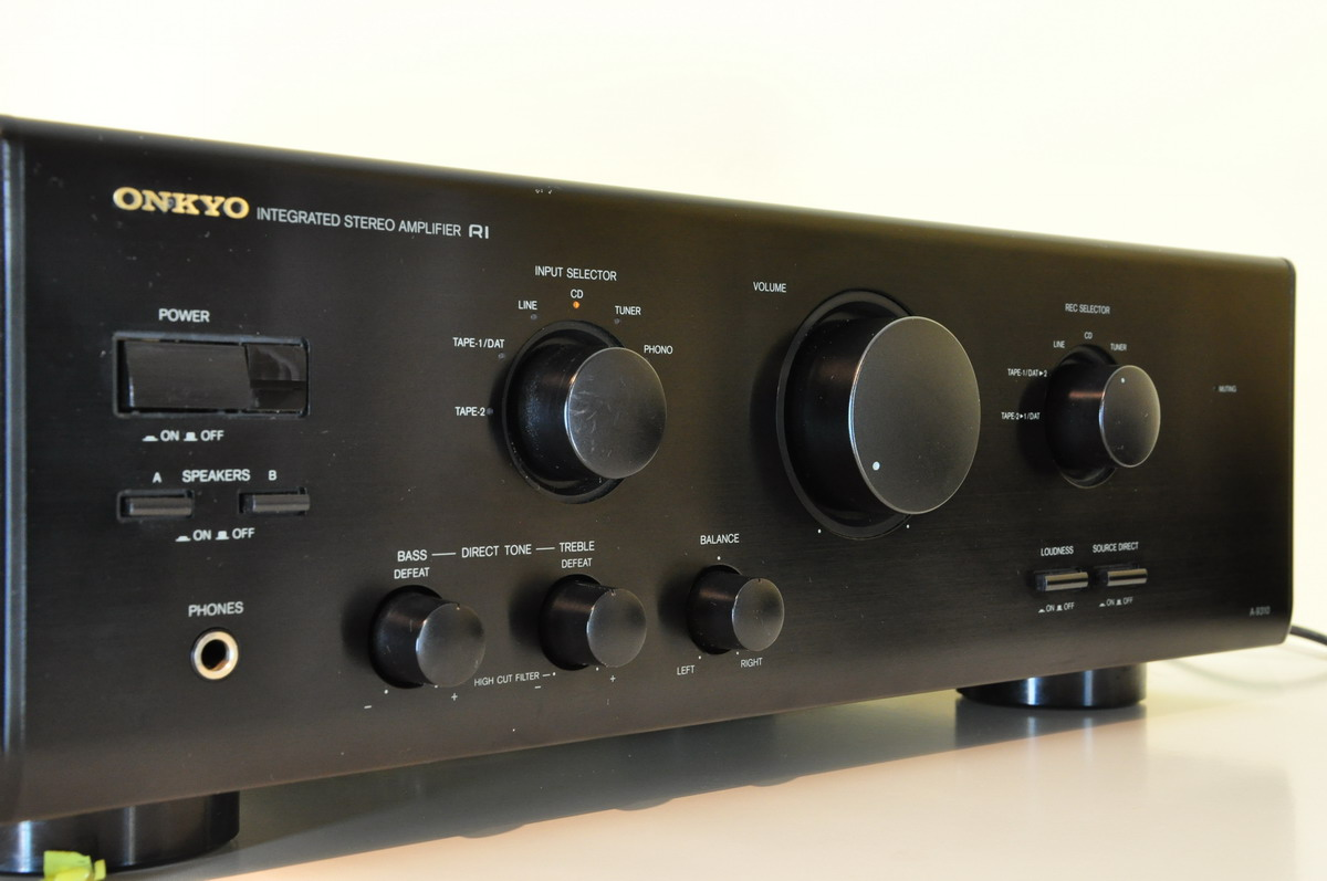 Onkyo A 9310 Integrated Amplifier Audiobaza