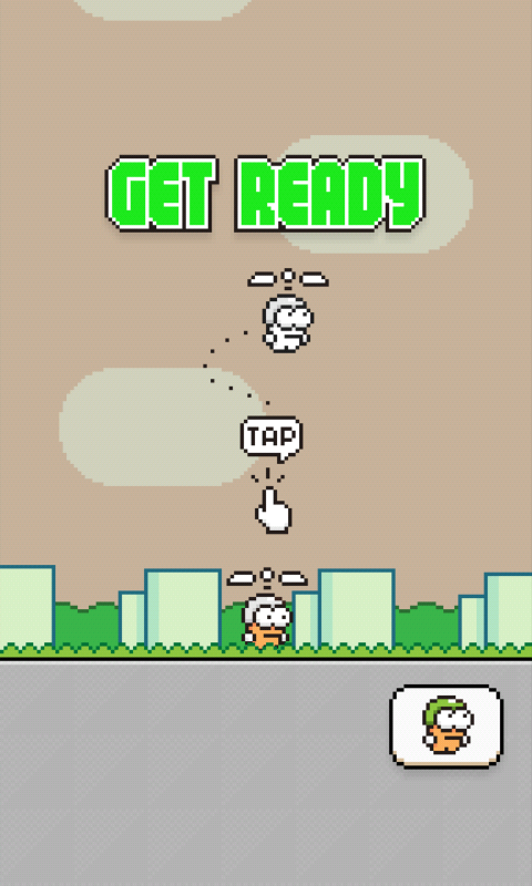 Game Lanjutan Flappy Bird di Play Store