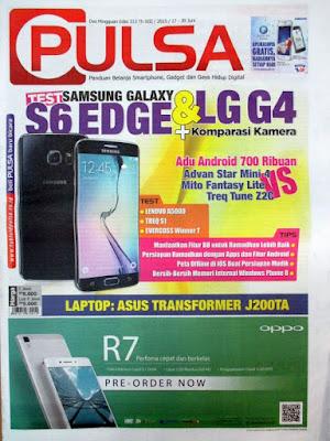 Majalah / Koran / Tabloid Pulsa Terbaru Edisi 313